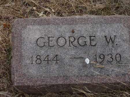 DOTY, GEORGE W. - Keya Paha County, Nebraska   GEORGE W. DOTY - Nebraska Gravestone Photos