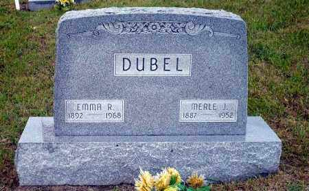DUBEL, MERLE J. - Keya Paha County, Nebraska | MERLE J. DUBEL - Nebraska Gravestone Photos