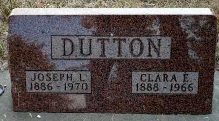 DUTTON, CLARA E. - Keya Paha County, Nebraska | CLARA E. DUTTON - Nebraska Gravestone Photos
