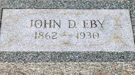 EBY, JOHN D. - Keya Paha County, Nebraska | JOHN D. EBY - Nebraska Gravestone Photos