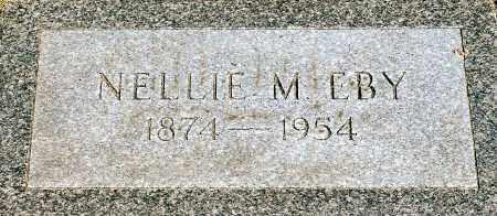 EBY, NELLIE M. - Keya Paha County, Nebraska | NELLIE M. EBY - Nebraska Gravestone Photos