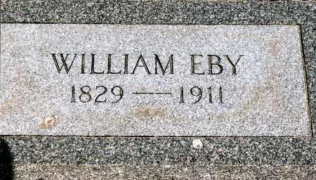 EBY, WILLIAM - Keya Paha County, Nebraska | WILLIAM EBY - Nebraska Gravestone Photos