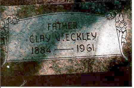 ECKLEY, CLAY V. - Keya Paha County, Nebraska | CLAY V. ECKLEY - Nebraska Gravestone Photos