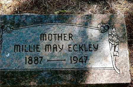 ECKLEY, MILLIE MAY - Keya Paha County, Nebraska   MILLIE MAY ECKLEY - Nebraska Gravestone Photos