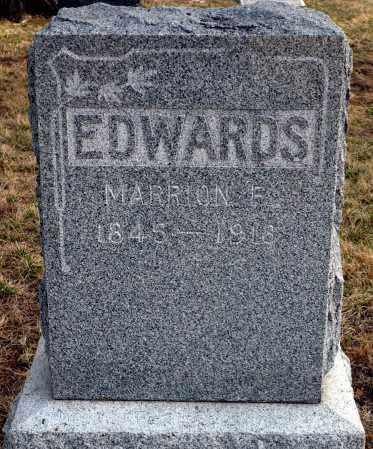 EDWARDS, MARION F. - Keya Paha County, Nebraska   MARION F. EDWARDS - Nebraska Gravestone Photos