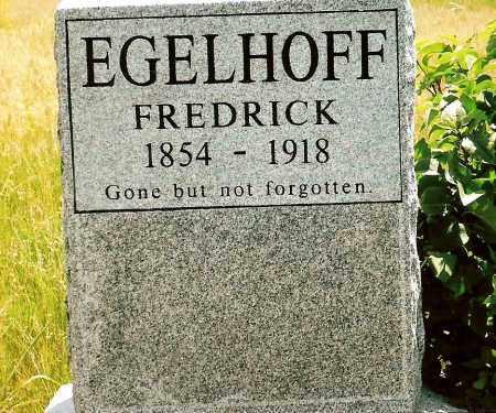 EGELHOFF, FREDRICK - Keya Paha County, Nebraska | FREDRICK EGELHOFF - Nebraska Gravestone Photos