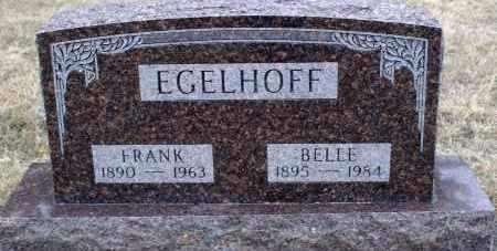 BURLEY EGELHOFF, LEOTA BELLE - Keya Paha County, Nebraska | LEOTA BELLE BURLEY EGELHOFF - Nebraska Gravestone Photos