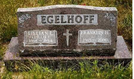 EGELHOFF, LILLIAN L. (LILLIE) - Keya Paha County, Nebraska | LILLIAN L. (LILLIE) EGELHOFF - Nebraska Gravestone Photos