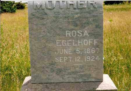 EGELHOFF, ROSA - Keya Paha County, Nebraska   ROSA EGELHOFF - Nebraska Gravestone Photos