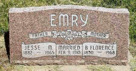 EMRY, JESSE M. - Keya Paha County, Nebraska | JESSE M. EMRY - Nebraska Gravestone Photos