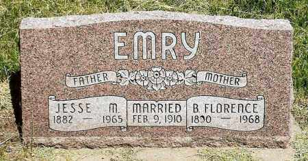 EMRY, B. FLORENCE - Keya Paha County, Nebraska   B. FLORENCE EMRY - Nebraska Gravestone Photos