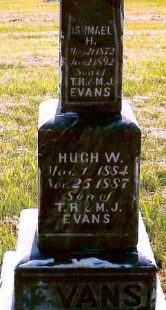 EVANS, ISHMAEL H. - Keya Paha County, Nebraska   ISHMAEL H. EVANS - Nebraska Gravestone Photos