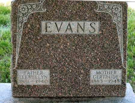 EVANS, LLEWELLYN - Keya Paha County, Nebraska | LLEWELLYN EVANS - Nebraska Gravestone Photos
