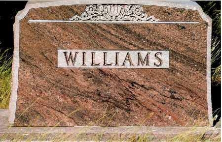 WILLIAMS, FAMILY - Keya Paha County, Nebraska | FAMILY WILLIAMS - Nebraska Gravestone Photos