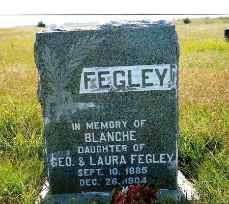 FEGLEY, BLANCHE - Keya Paha County, Nebraska | BLANCHE FEGLEY - Nebraska Gravestone Photos