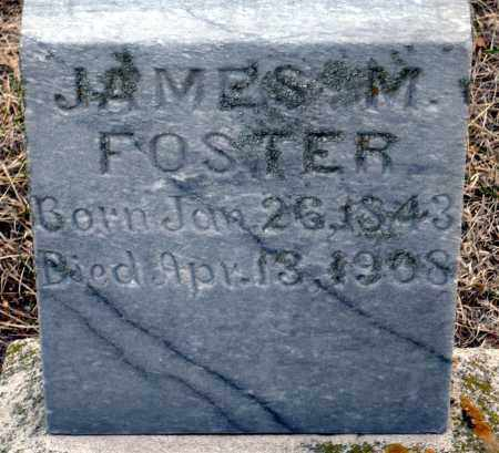 FOSTER, JAMES M. - Keya Paha County, Nebraska | JAMES M. FOSTER - Nebraska Gravestone Photos