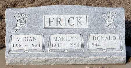 FRICK, MARILYN - Keya Paha County, Nebraska | MARILYN FRICK - Nebraska Gravestone Photos