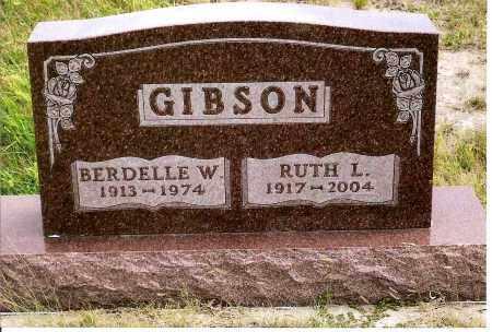 GIBSON, BURDELLE W. - Keya Paha County, Nebraska   BURDELLE W. GIBSON - Nebraska Gravestone Photos