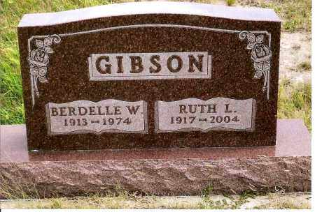REBER GIBSON, RUTH L. - Keya Paha County, Nebraska | RUTH L. REBER GIBSON - Nebraska Gravestone Photos
