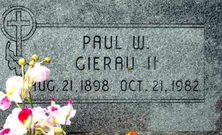 GIERAU, PAUL W.  II - Keya Paha County, Nebraska   PAUL W.  II GIERAU - Nebraska Gravestone Photos