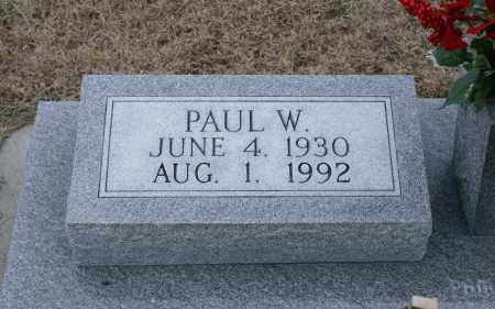 GIERAU, PAUL W. - Keya Paha County, Nebraska | PAUL W. GIERAU - Nebraska Gravestone Photos