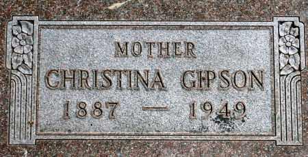 GIPSON, CHRISTINA - Keya Paha County, Nebraska   CHRISTINA GIPSON - Nebraska Gravestone Photos