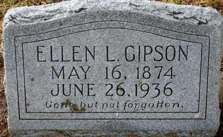 BLAKELY GIPSON, ELLEN L. - Keya Paha County, Nebraska   ELLEN L. BLAKELY GIPSON - Nebraska Gravestone Photos