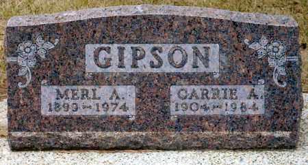 GIPSON, MERL A. - Keya Paha County, Nebraska | MERL A. GIPSON - Nebraska Gravestone Photos