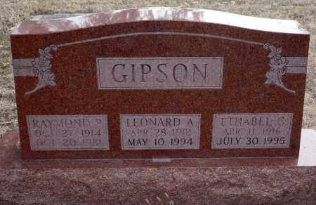 CARR GIPSON, ETHABEL C. - Keya Paha County, Nebraska | ETHABEL C. CARR GIPSON - Nebraska Gravestone Photos