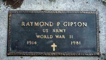 GIPSON, RAYMOND P. - Keya Paha County, Nebraska | RAYMOND P. GIPSON - Nebraska Gravestone Photos