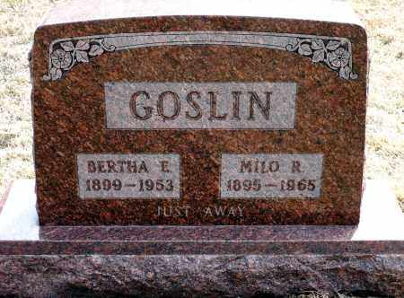 CARTER GOSLIN, BETHA E. - Keya Paha County, Nebraska | BETHA E. CARTER GOSLIN - Nebraska Gravestone Photos