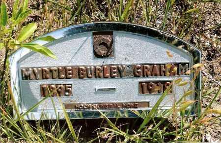 BURLEY GRAHAM, MYRTLE - Keya Paha County, Nebraska | MYRTLE BURLEY GRAHAM - Nebraska Gravestone Photos