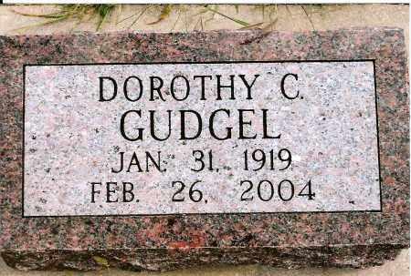 GUDGEL, DOROTHY C. - Keya Paha County, Nebraska | DOROTHY C. GUDGEL - Nebraska Gravestone Photos