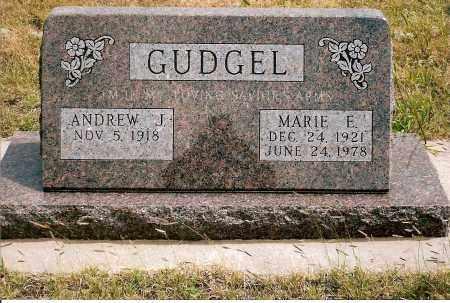 GUDGEL, MARIE E. - Keya Paha County, Nebraska   MARIE E. GUDGEL - Nebraska Gravestone Photos