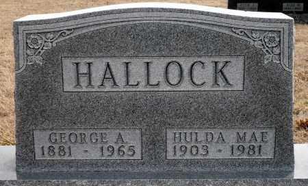 HALLOCK, GEORGE A. - Keya Paha County, Nebraska   GEORGE A. HALLOCK - Nebraska Gravestone Photos