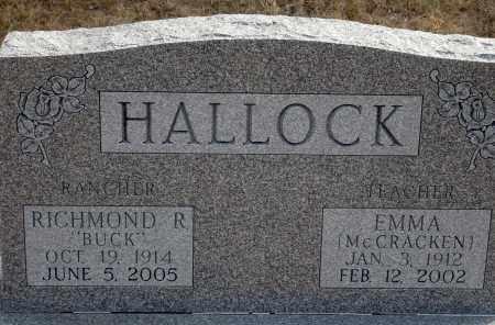 HALLOCK, RICHMOND R. - Keya Paha County, Nebraska | RICHMOND R. HALLOCK - Nebraska Gravestone Photos