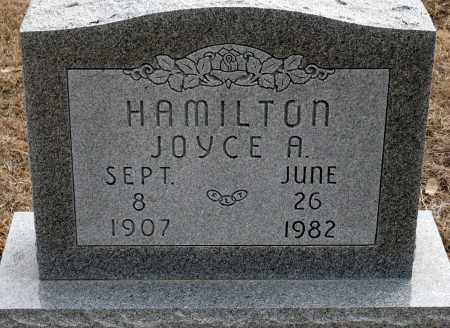 HAMILTON, JOYCE A. - Keya Paha County, Nebraska   JOYCE A. HAMILTON - Nebraska Gravestone Photos