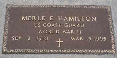 HAMILTON, MERLE E. - Keya Paha County, Nebraska | MERLE E. HAMILTON - Nebraska Gravestone Photos