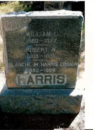 HARRIS-CRONIN, BLANCHE M. - Keya Paha County, Nebraska | BLANCHE M. HARRIS-CRONIN - Nebraska Gravestone Photos