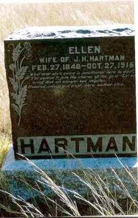 HARTMAN, ELLEN - Keya Paha County, Nebraska   ELLEN HARTMAN - Nebraska Gravestone Photos
