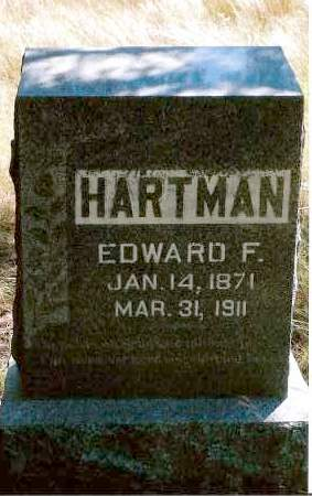 HARTMAN, EDWARD - Keya Paha County, Nebraska | EDWARD HARTMAN - Nebraska Gravestone Photos