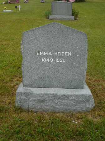 HEIDEN, EMMA - Keya Paha County, Nebraska | EMMA HEIDEN - Nebraska Gravestone Photos