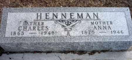 HENNEMAN, CHARLES - Keya Paha County, Nebraska | CHARLES HENNEMAN - Nebraska Gravestone Photos