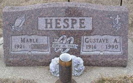 HESPE, GUSTAVE A. - Keya Paha County, Nebraska | GUSTAVE A. HESPE - Nebraska Gravestone Photos