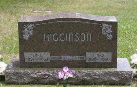 HIGGINSON, MARY JANE - Keya Paha County, Nebraska | MARY JANE HIGGINSON - Nebraska Gravestone Photos