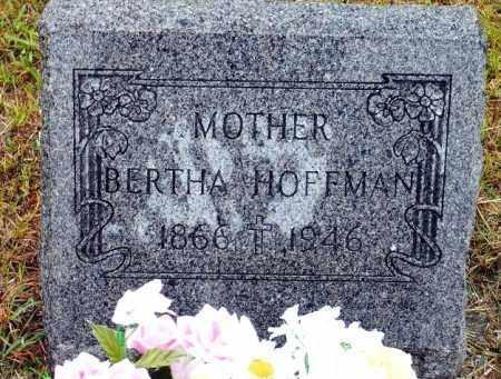 HOFFMAN, BERTHA - Keya Paha County, Nebraska   BERTHA HOFFMAN - Nebraska Gravestone Photos