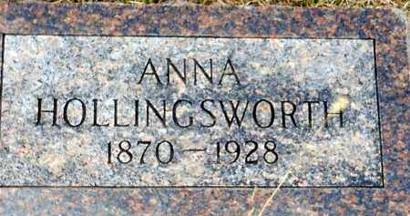 BURNMEISTER HOLLINGSWORTH, ANNA EMMA - Keya Paha County, Nebraska | ANNA EMMA BURNMEISTER HOLLINGSWORTH - Nebraska Gravestone Photos