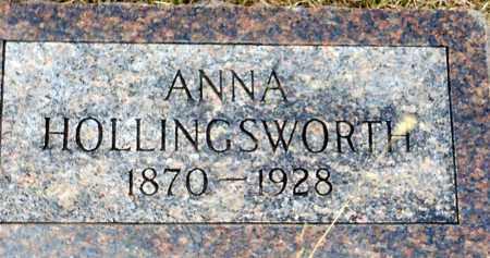 HOLLINGSWORTH, ANNA EMMA - Keya Paha County, Nebraska   ANNA EMMA HOLLINGSWORTH - Nebraska Gravestone Photos