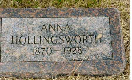 HOLLINGSWORTH, ANNA - Keya Paha County, Nebraska | ANNA HOLLINGSWORTH - Nebraska Gravestone Photos