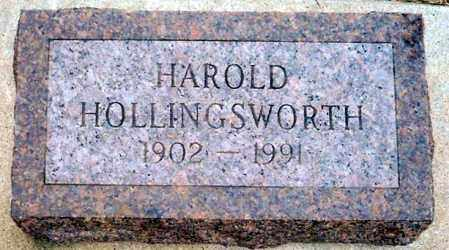 HOLLINGSWORTH, HAROLD - Keya Paha County, Nebraska | HAROLD HOLLINGSWORTH - Nebraska Gravestone Photos